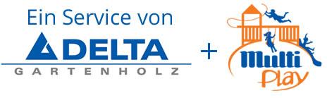 Delta Gartenholz Logo