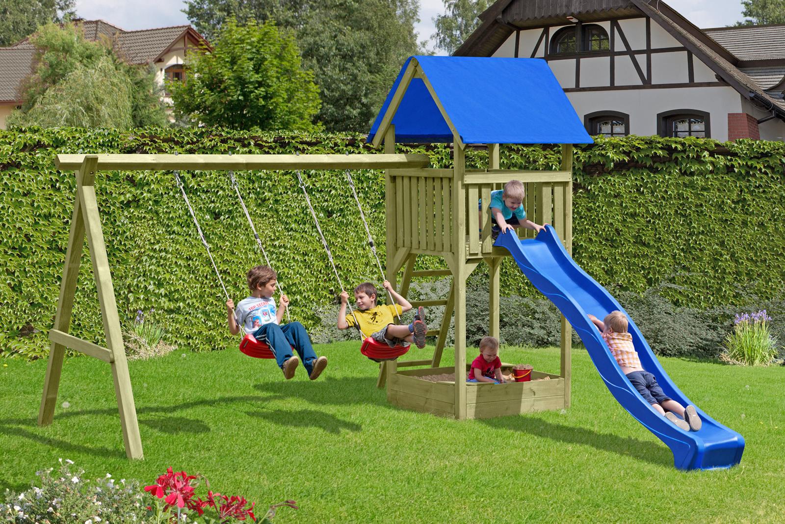 Delta Gartenholz Spielanlage Junior