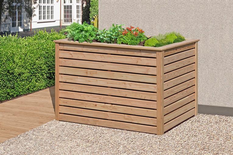 delta gartenholz hochbeet l rche art 61050. Black Bedroom Furniture Sets. Home Design Ideas