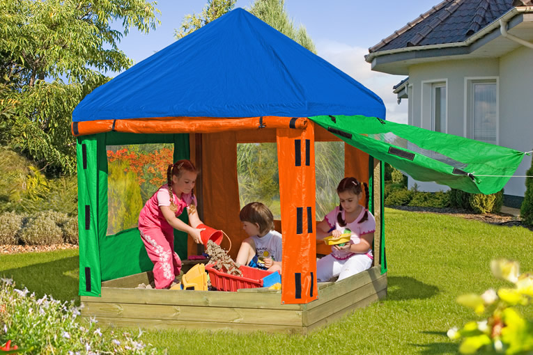 Kinderpavillon Willi 152 x 152 x 180 cm