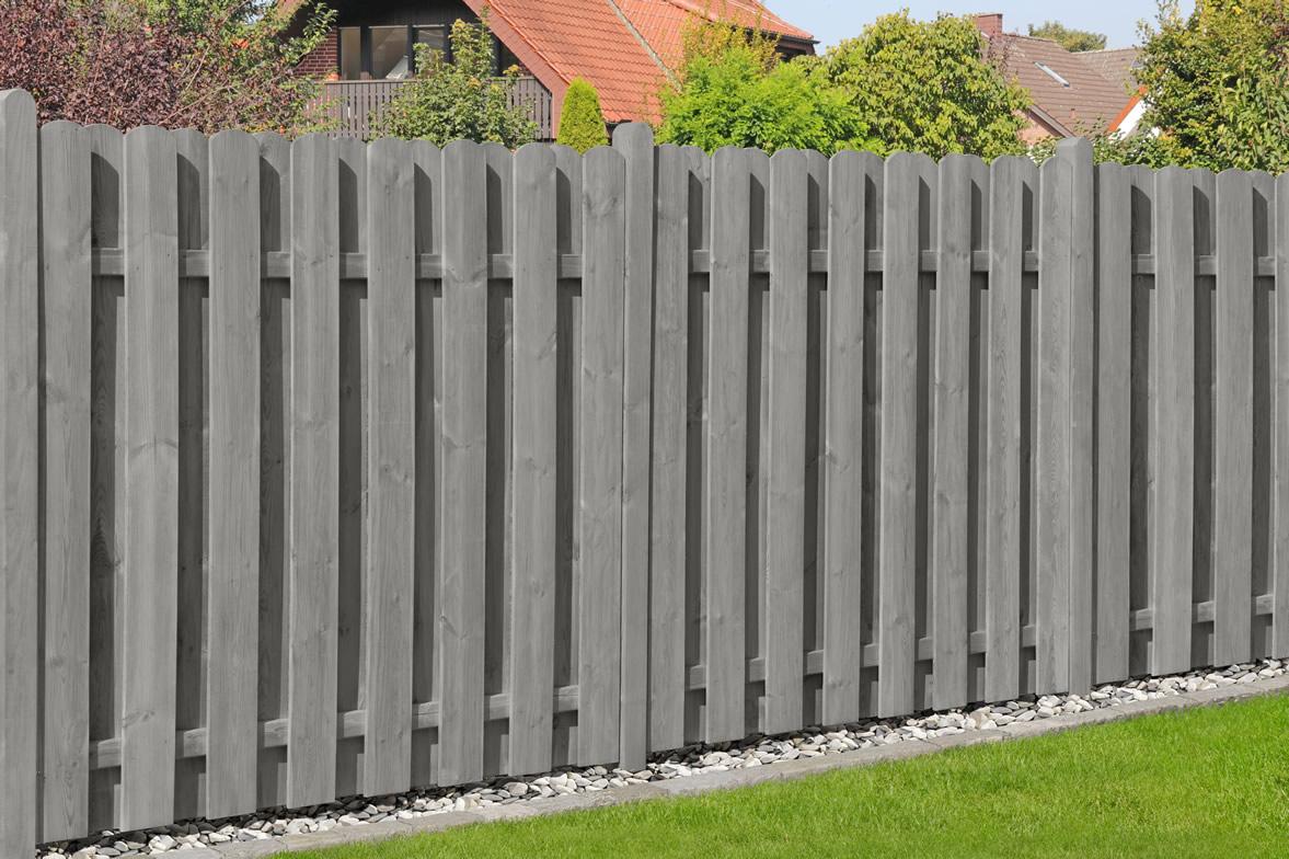 Bohlen-Zaun