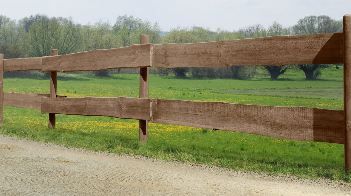 Rancherzaunbohlen 2,4 x 15/25 x 240 cm